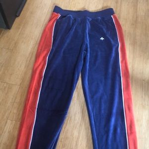 NWT Men's velour sweats. Size M